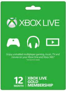 12 Month Xbox Live Gold Membership » Home Design 2017