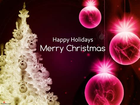 merry christmas  happy holidays message festival collections