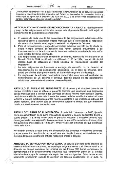 pensionado por decreto 2016 decreto salarial 1278 2016 newhairstylesformen2014 com