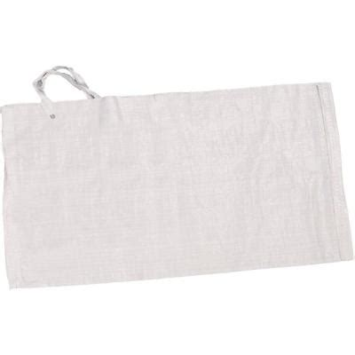 14 in x 26 in white polypropylene sandbag 100 pack