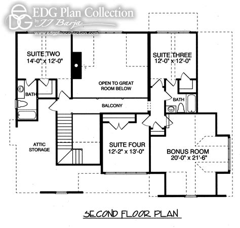 1500 sf house plans rustic cottage two plan 3126 edg plan collection