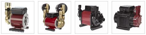 shower booster pumps technology