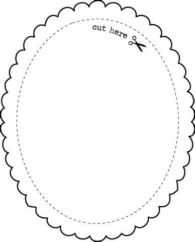 pattern frame template templates printables collection express yourself diy
