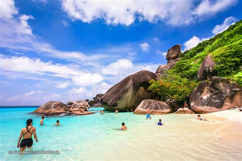 boat rs near disappearing island similan islands snorkelling tour phang nga tour reviews