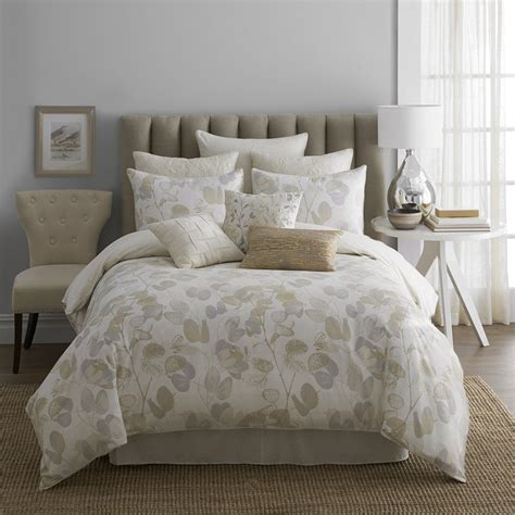 modern living oxidized leaf comforter set bedding and