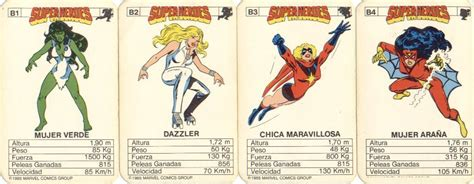 Imagenes Retro Super Heroes | cartas super heroes marvel y dc comic retro im 225 genes
