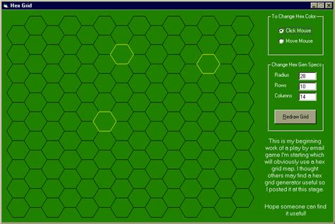 hex grid generator by jyoder from psc cd