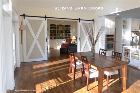 Kitchen To Living Room Doors Hometalk Sliding Barn Doors Barn Door Hardware