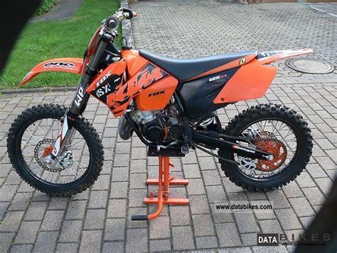Ktm 125 Sx 2005 Specs 2005 Ktm 125 Sx