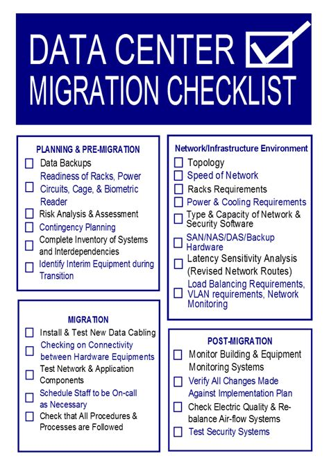 server migration plan template