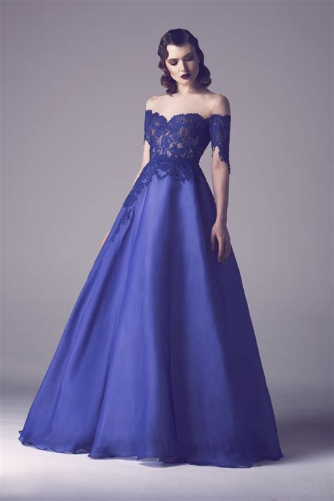 boat neck wedding dress royal royal blue boat neck lace evening dresses ball gown open