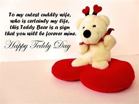 teddy day quotes   fun
