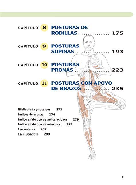 anatoma del yoga anatom 237 a del yoga nueva edici 243 n liada y actualizada ediciones tutor