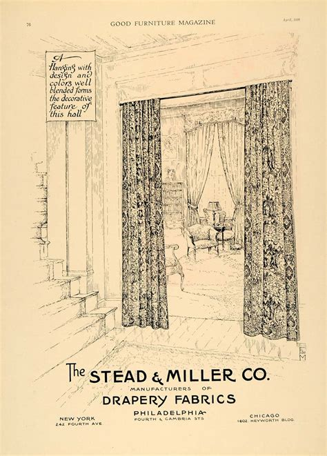 1920s curtains 1920 ad stead miller drapes fabrics curtains decor new