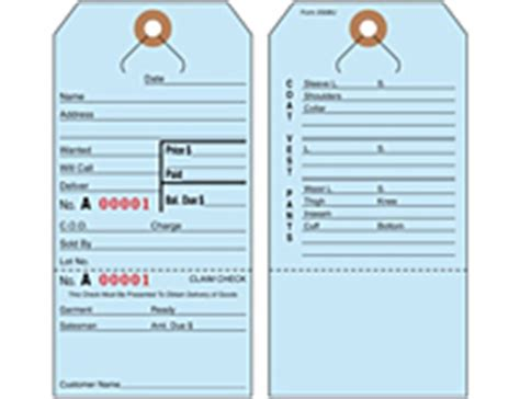 printable repair tags lay away alteration repair tags universal tag inc