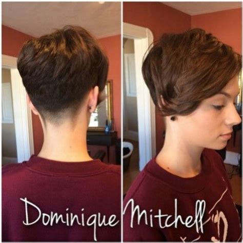 bob haircuts with a v fade in back lady fade hair pinterest pixies short hair and hair