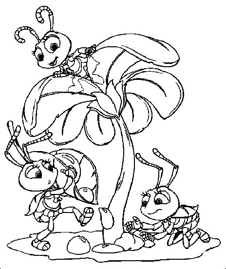 disney cartoon characters coloring pages for kids