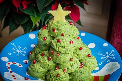broccoli and mash christmas tree a dash of olive oil