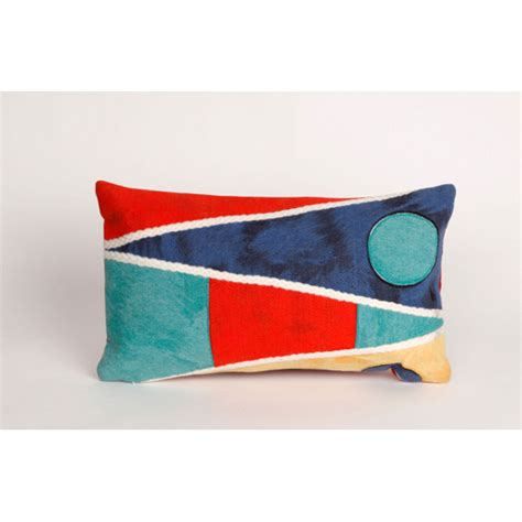 Nautical Outdoor Pillows by Nautical Flag Oblong Indoor Outdoor Pillow