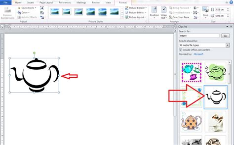 word 2010 clipart how do i insert clip in word 2007 2010 and 2013 and