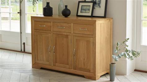 Oak Furniture Land Sideboards Plentiful Storage And Display Oak Furniture