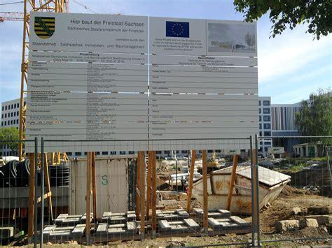 Bauschild Mieten by Bauschilder Aufsteller Mieten Oder Kaufen Dresden