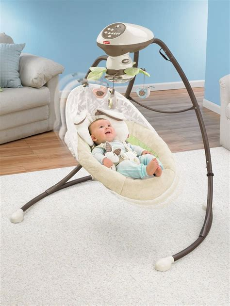 swinging chair baby best 25 baby swings and bouncers ideas on pinterest