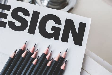 black pencils and design sign free stock photo negativespace