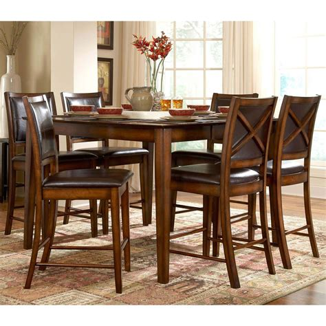 Verona 5 Set homelegance verona 5 pc counter height dining set