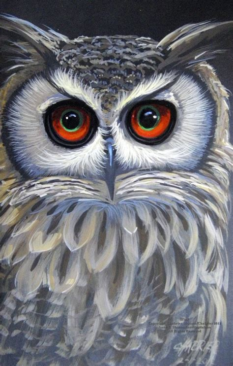 image result  easy diy paintings  canvas owls owl
