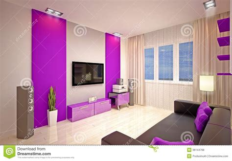 bedroom lounge interior design modern living room royalty free stock