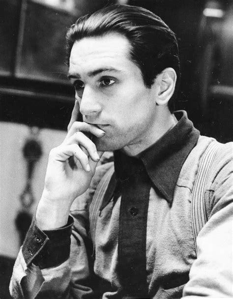 Pomade Godfather de niro actor blackandwhite you re like really handsome the godfather