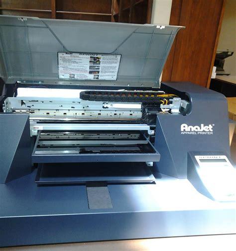 Printer Dtg Anajet Sprint lot 92 anajet sprint dtg printer garments or canvas wirebids