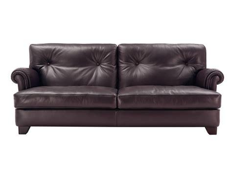 poltrone in pelle frau on divano by poltrona frau