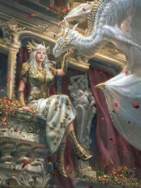 photo  images fantasy dragon dragon princess