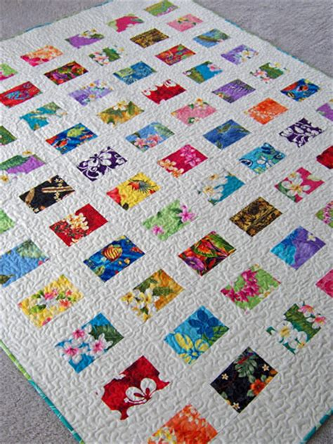 printable quilt fabric postcards from hawaii pattern would be a lovely way to