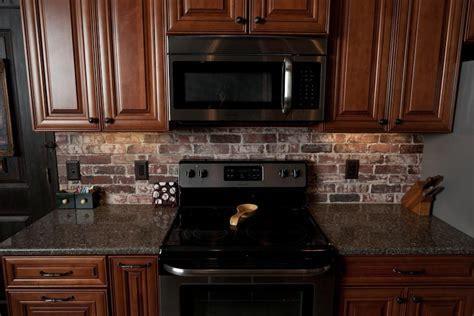 kitchen backsplashes brick facade kitchen installing backsplash brick backsplash vintage brick veneer blog