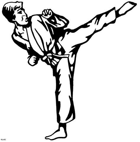 coloring pages karate kid color karate printables pinterest