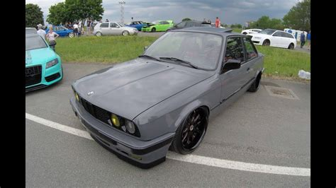 bmw 3 series e30 coupe facelift grey colour work