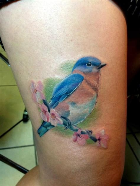 bluebird tattoo meaning blue bird tattoos pictures to pin on tattooskid