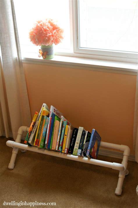 hometalk diy pvc pipe book storage