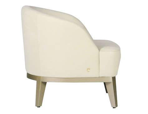 ivory armchair nella vetrina venice italian arm chair in ivory nabuk