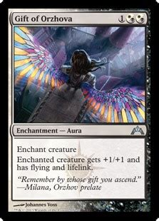 Magic The Gathering Gift Card - gift of orzhova gatecrash gatherer magic the gathering