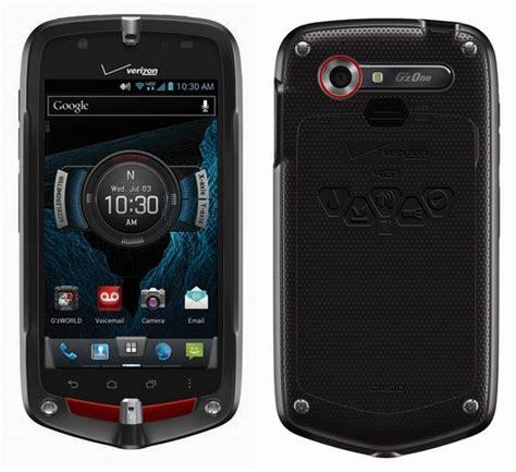 verizon casio g zone commando 4g lte rugged smartphone