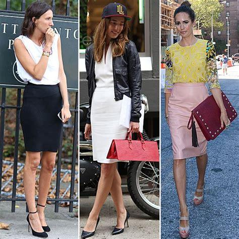 Lnice Flower Top Skirt fashion week style pencil skirt trend popsugar