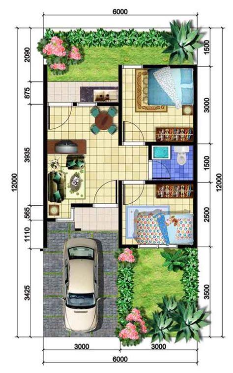 gambar desain denah rumah minimalis