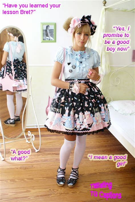 forced to wear girls clothes titillating tg captions june 2011