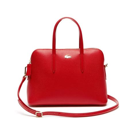 Lcost Bag purses and handbags clutches and totes lacoste