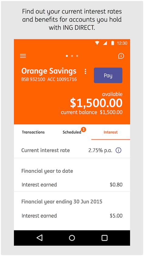 inc direct bank ing direct australia banking android apps on play