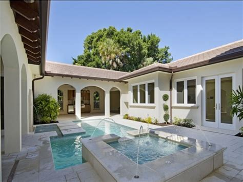 florida house plans with courtyard pool 17 best images about ideas for building in belize on